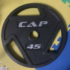 CAP Barbell 45lbs Olympic Grip Plate