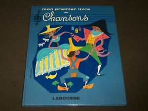 1959 Mon Premier Livre De Chansons French Book With 2 Records Kd 4774 Ebay