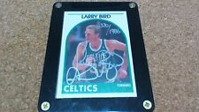 Hoops Larry Bird Signed Basketball Card, 1991