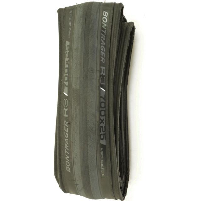 New Bontrager R3 700 x 23 Folding Road Bike Tire White//Black