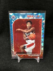 RUI-HACHIMURA-2019-20-Panini-NBA-Hoops-Rookie-Teal-Explosion-RC-206-Wizards-C92