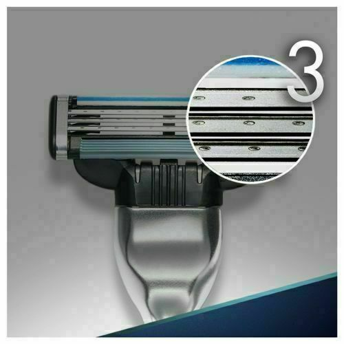 24 Stück für Gillette Mach 3 Rasierklingen Edelstahl Klingen im Blister Gilette-