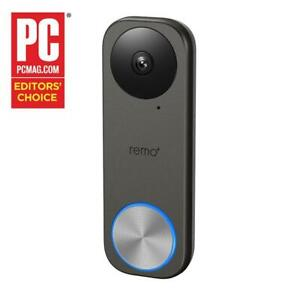 Remo-RemoBell-S-Wi-Fi-Video-Doorbell-Camera-No-Monthly-Fees-FREE-3-day-clo