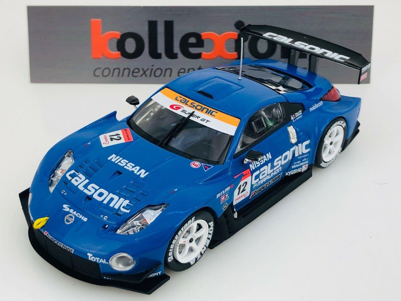 EBBRO 834 NISSAN n°12 CALSONIC IMPUL Z SUZUKA 1000KM súper GT 2006 1.43 NB