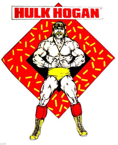 "3/""-6/"" Wwe wrestling hulk hogan novelty custom heat transfer iron on"