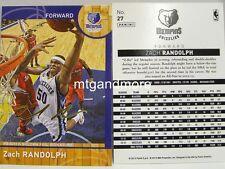 Panini NBA (Adrenalyn XL) 2013/2014 - #027 Zach Randolph - Golden Foil Signature