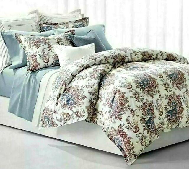 Ralph Lauren Juliet Paisley 3-Pc. King Comforter Set $300 New