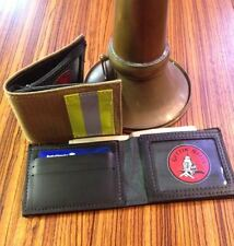 Bunker Gear Tan Firefighter Wallet - Firefighter Gift