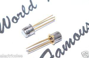 1PCS-SP-2N4220-Gold-Pin-TRANSISTOR-Genuine-NOS