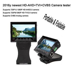 PIEGHEVOLE-BRACCIALETTO-1080p-HD-AHD-TVI-CVBS-Camera-CCTV-MONITOR-TESTER-UTP