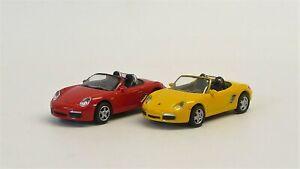 Porsche-Boxter-S-Schuco25466-Welly73118SW-a-Elegir-Nuevo-en-Emb-Orig-1-87