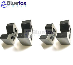 """Combo Of 2 Sets Of Cast Iron Vee Block Pair 2/"""" /& 4/"""" Inch V Block Without Clamp"""