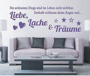 X822-Wandtattoo-Spruch-Leben-Liebe-Lache-und-Traeume-Wandsticker-Wandaufkleber
