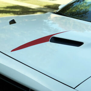 Details about Cowl Hood Spears Stripes Vinyl Decal V1 for 2015 2016 2017  2018 Dodge Challenger