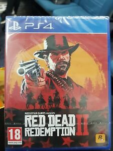 Red Dead Redemption 2 (Sony PlayStation 4 2018) - UK Version New and Sealed