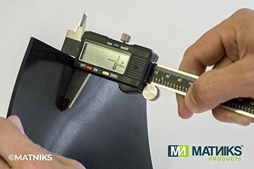 """Neoprene Rubber Heavy Duty Sheet 12/"""" x 12/"""" by 1//8 Gaskets DIY Material Bumpers"""