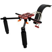 Pro S2 Hd Gy Cam Camera Shoulder Support For Jvc Hm170ua Hm620 4kcam Camcorder