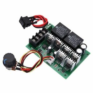 DC-12-24-36-48V-60A-PWM-Motor-Speed-Controller-CW-CCW-Reversible-Switch