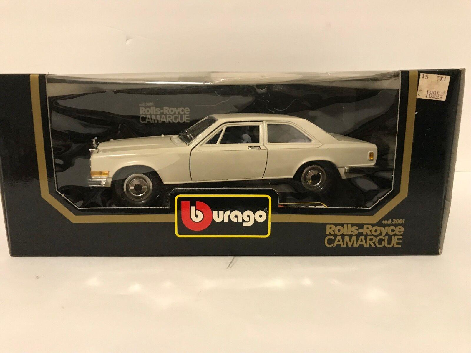 Burago 1 22 Scale Diecast Rolls Royce Camargue NIB