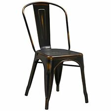 distressed metal furniture. Flash Furniture Distressed Metal Indoor Stackable Chair- Copper A
