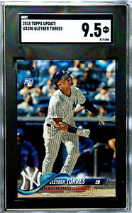 2018-Topps-Update-Gleyber-Torres-US200-RC-Rookie-SGC-9-5-MT-New-York-Yankees