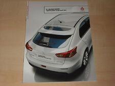 59416) Mitsubishi Lancer Sportback Prospekt 10/2010