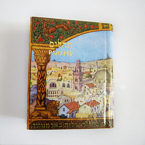 Details about Book of Psalms Tehilim Tehillim Pocket MINI Hebrew English  Jewish Prayer Hymns