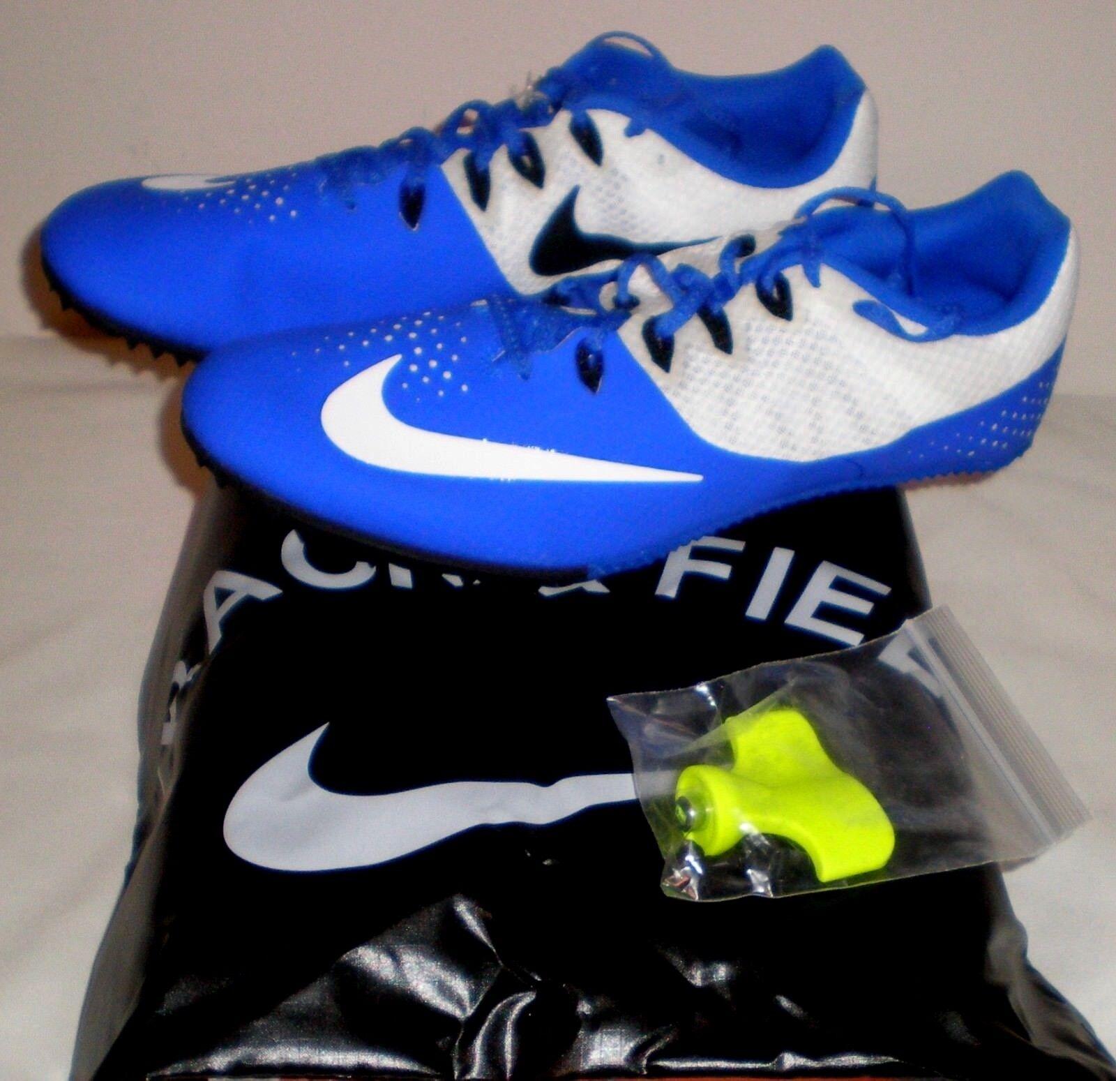 Nike Zoom rival S8 Blanco pista de correr Sprint Shoes Royal Azul Blanco S8 Spikes Hombre 11 el mas popular zapatos para hombres y mujeres b27c5a