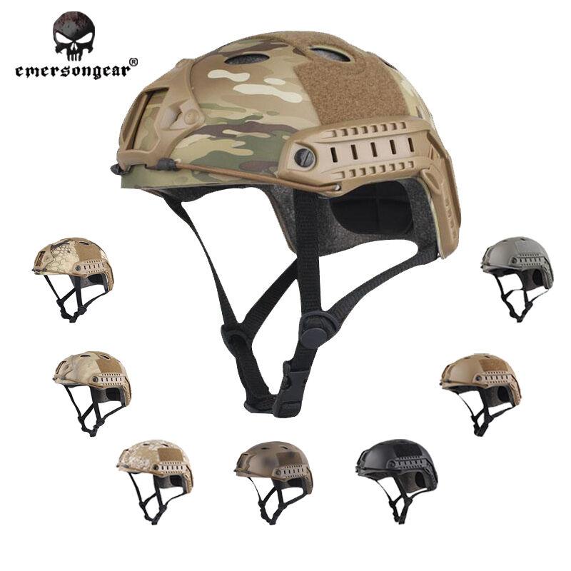 EMERSON Tactical FAST  Helmet PJ Type Hunting Bike Headwear EM8811 - 10 colors  online sale