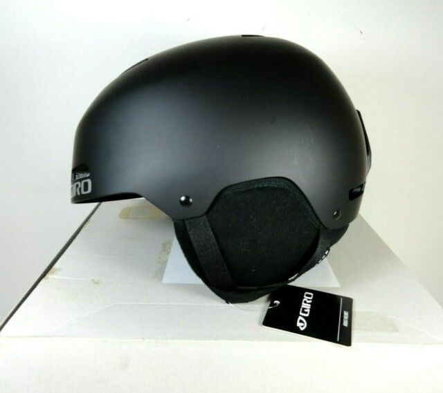 GIRO Ledge Adult Sz M Snow Sports Helmet Matte Black w box
