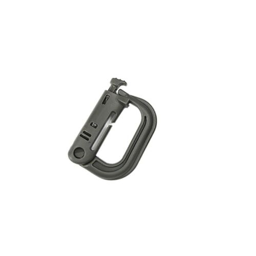 4pcs Tactical Molle Aluminum Carabiner Snap D-Ring Clip KeyChain Buckle US STOCK