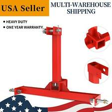 3 Point Tractor Towing Drawbar Trailer Hitch Receiver Attachment Cat 1 Adapter