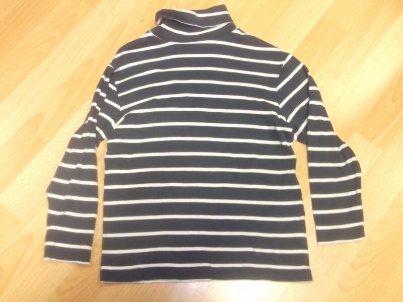 Gr.122-128 Rollkragen Shirt Langarmshirt Pullover Rolli Jungen Sammeln!!! Hell Und Durchscheinend Im Aussehen