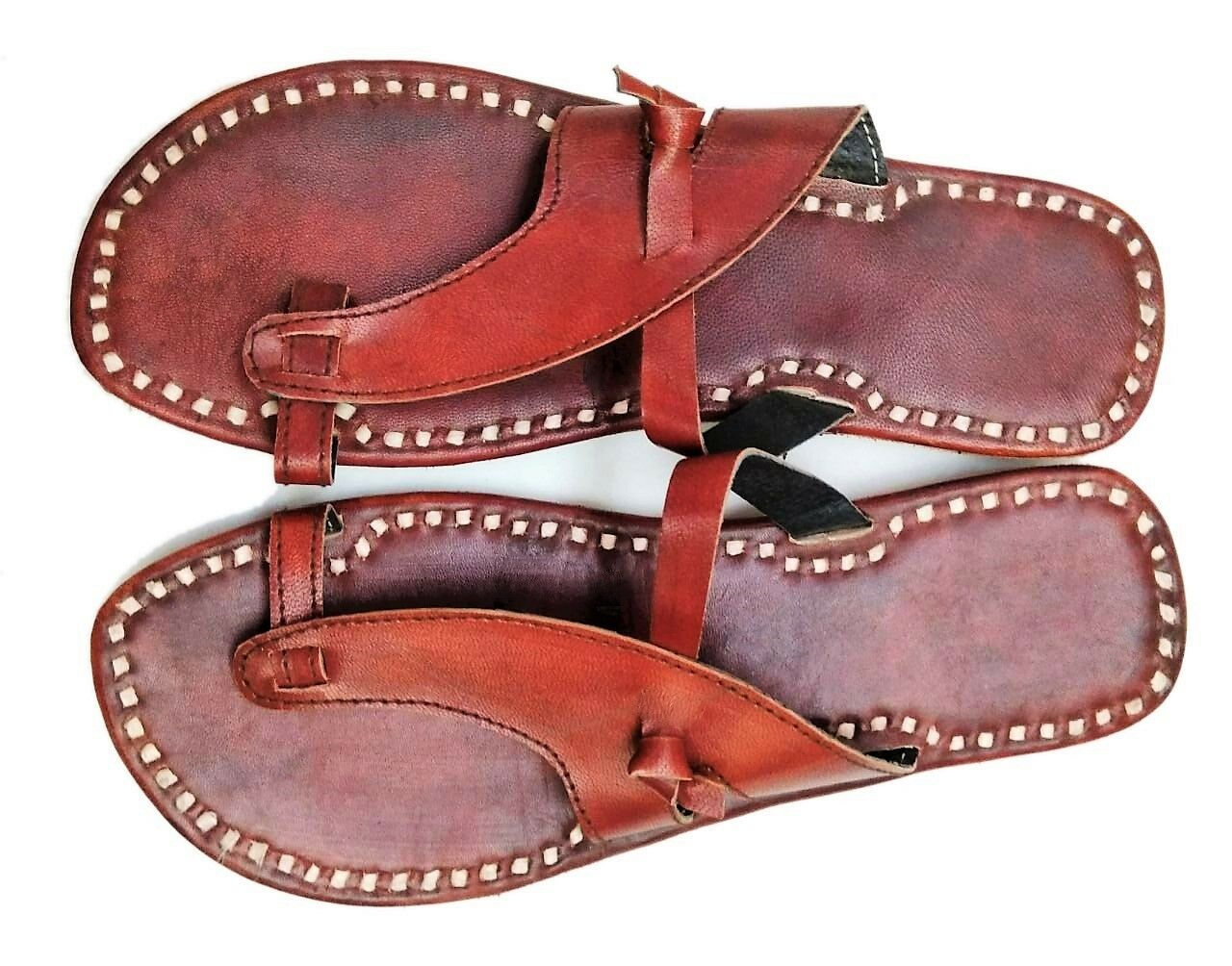 mens slippers mens sandals leather slippers shoe brown leather sandals flipflops