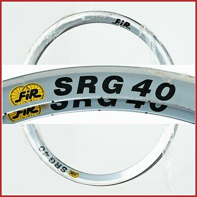 "NOS FIR SUPER RIALTO RIMS 28/"" 32h HOLES 90s VINTAGE TIME TRIAL CRONO CLINCHER"