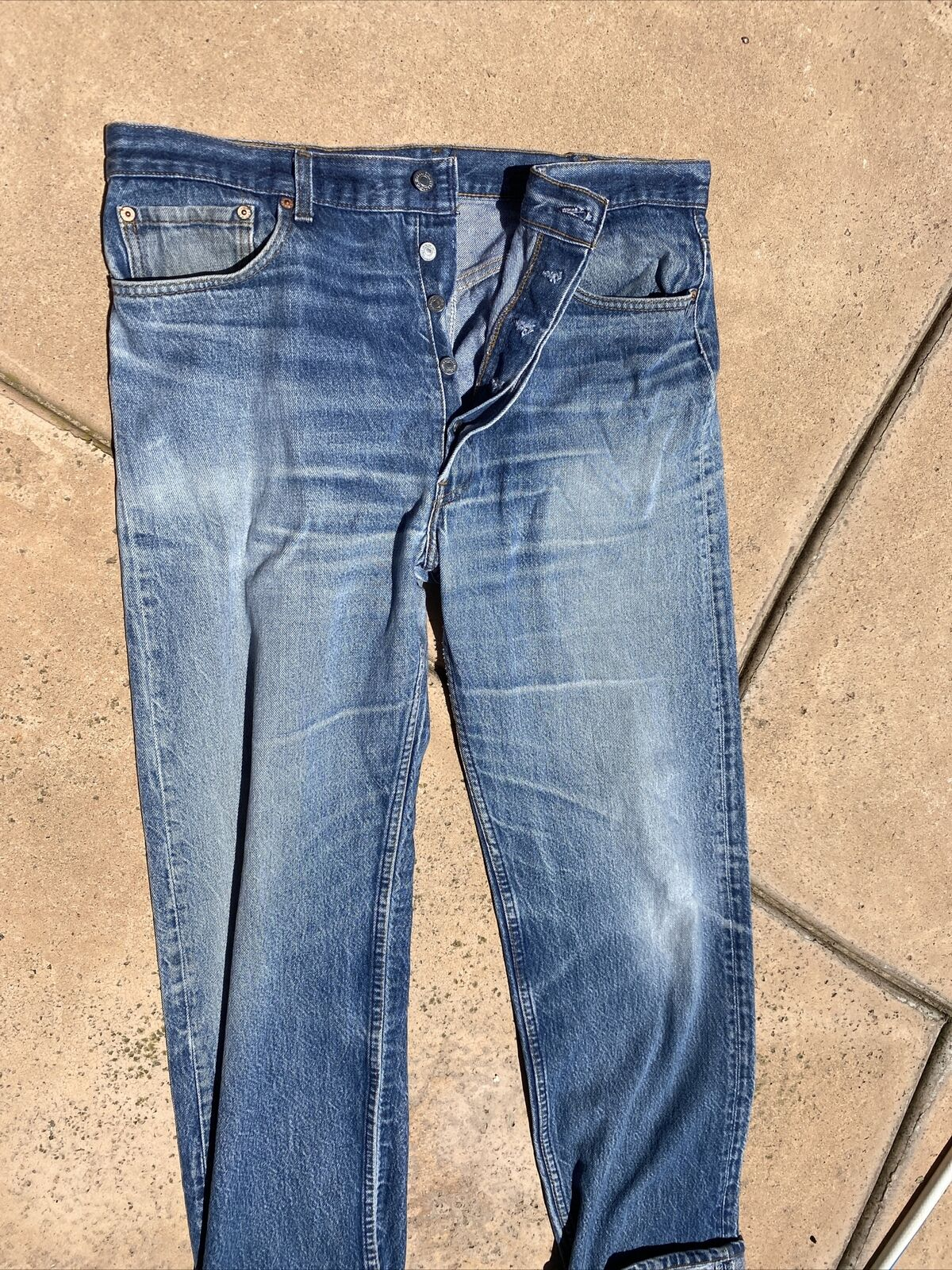 vintage levis jeans 501 made in usa  - image 3