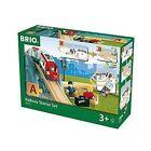 Wooden Railway BRIO Train Roller Coaster With Tunnel Starter Set a 33773