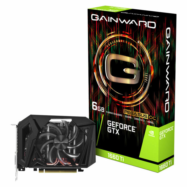 Gainward GeForce® GTX 1660 Ti Pegasus OC