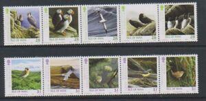 Ile-de-Man-2006-Manx-Oiseaux-Ensemble-MNH-Sg-1284-93