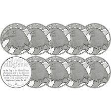 Pledge of Allegiance Silver Eagle 1oz .999 Silver Round by SilverTowne 10 Piece