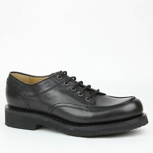 a47d4f51d  695 New Gucci Mens Leather Lace Up Oxford Shoes w Platform Black ...