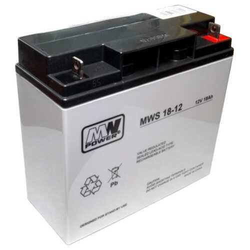MWS 18-12 AKKU UPS USV 12V 18AH FG21705 FG21803 FIAMM 12 V 17 A NEU NEW