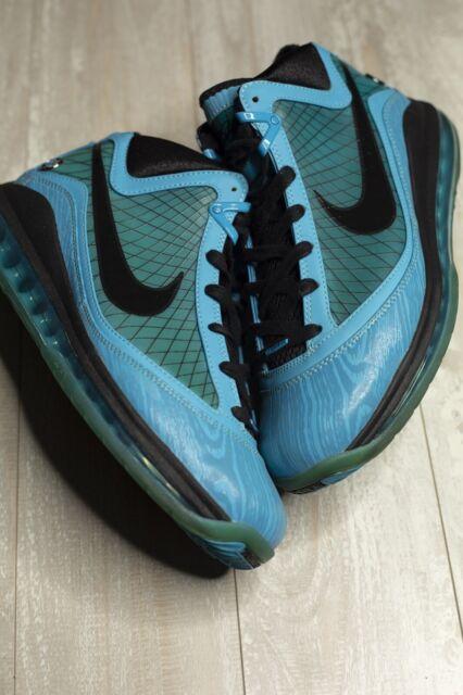 super popular 1fa9c 4fb5d Nike Lebron 7 VII All Star Chlorine Blue Sneakers Men's Size 10 VNDS 2010