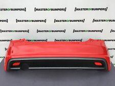 AUDI A1 S LINE 2010-2014 REAR BUMPER IN RED COMPLETE GENUINE [A409]