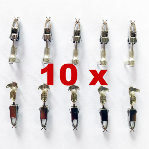 10 x BOSCH EV1 TERMINALS for NORMAL+SHORT+LOW 2,3,4,5,6,7,8 pin//pole FEMALE