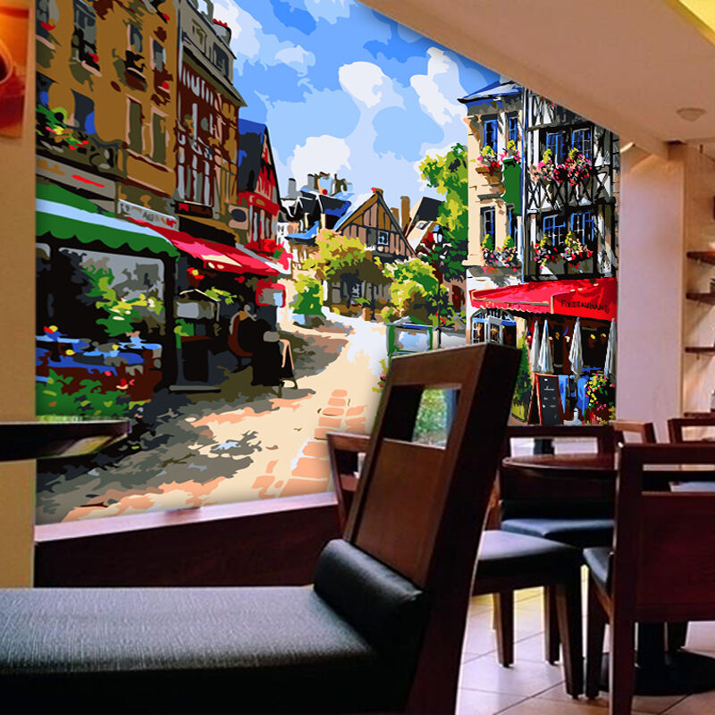 3D Stadtlandschaft 53 Fototapeten Wandbild Fototapete Bild Tapete Familie Kinder