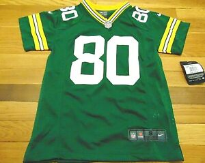 Details about NWT NIKE NFL ON FIELD GREEN BAY PACKERS DONALD DRIVER JERSEY SIZE YOUTH S (8)