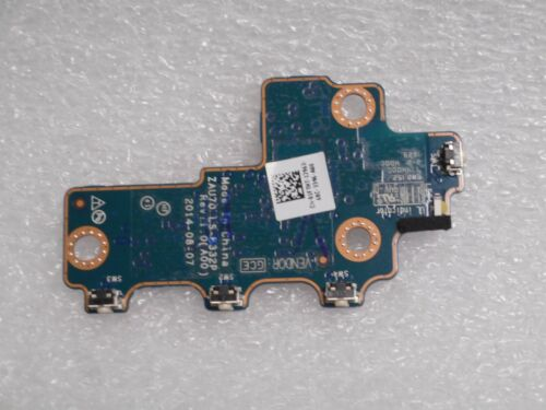 Dell Latitude 13 7350 Power Button Board  LS-B332P HIAA 1