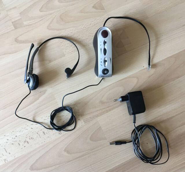 GN Netcom 4100 Verstärker und Basis für Headset gebraucht ohne Netzteil