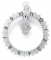 Kikkerland Big Wheel Revolving Wall Clock, New, Free Shipping on Sale
